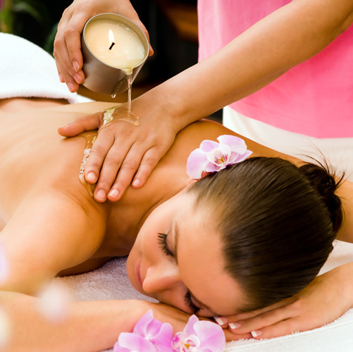 Massage aux Bougies